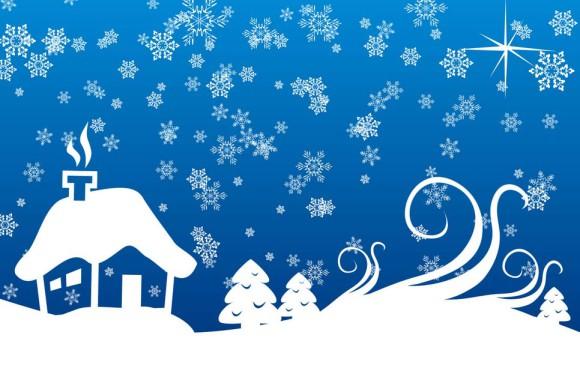 снег-в-окне