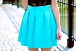 голубая-юбка