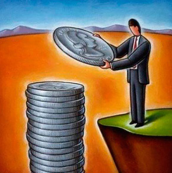 деньги-человек