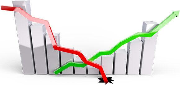 падения и рост